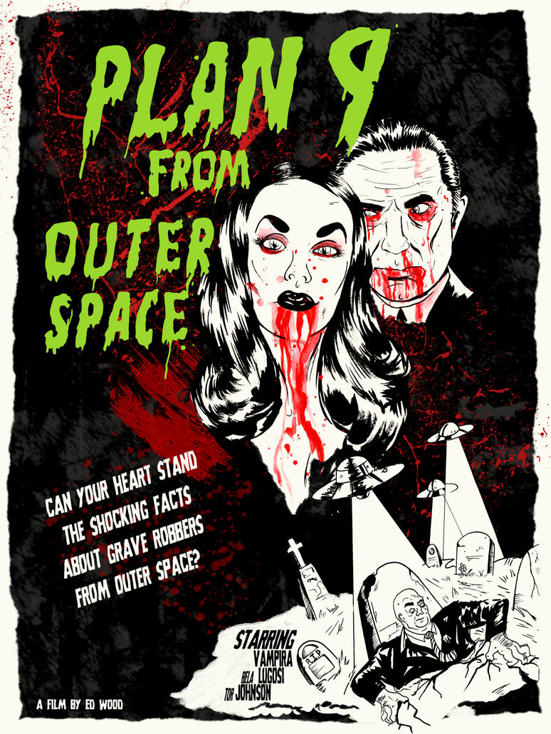 Plan 9 from Outer Space by after-the-funeral