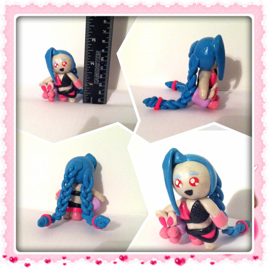 Jinx, The Loose Cannon Chibi by pirateshiplol