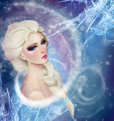 For the first time in forever... Elsa - Frozen