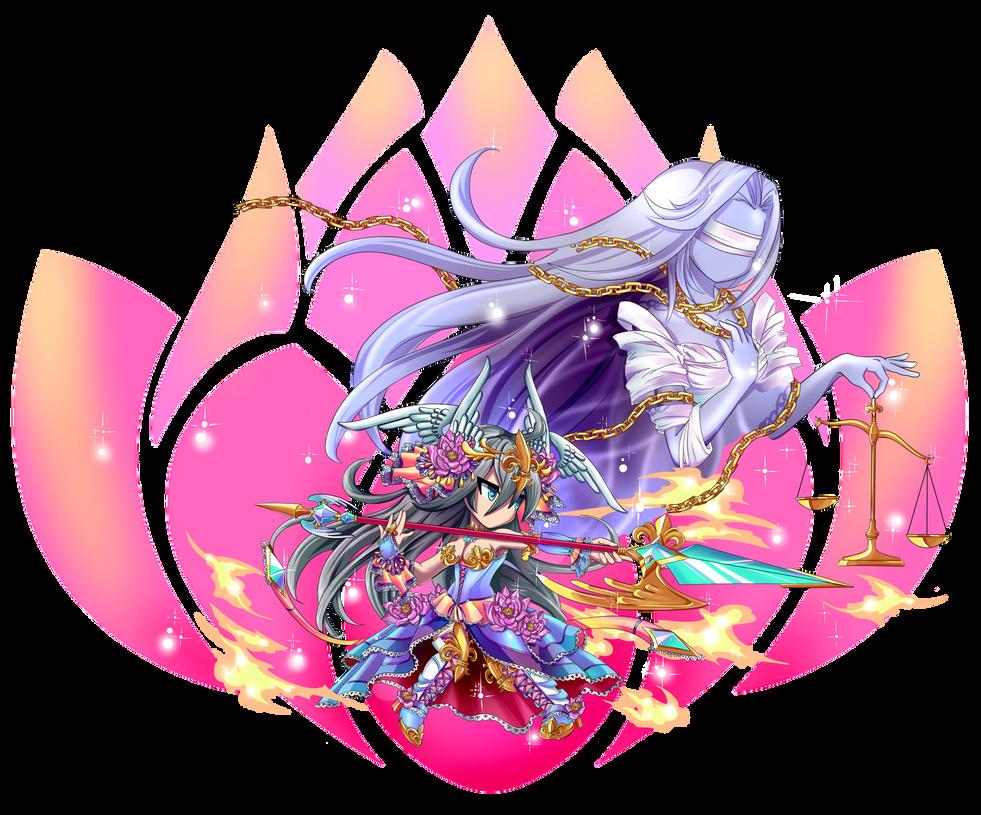 Brave Frontier Character Design Contest : Dark lotus lunaris siranul sutol krad by selainecosplay