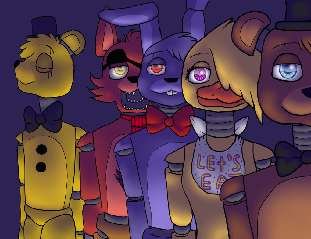 Freddy, Bonnie, Chica and Foxy Joins the Battle by