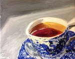 Painting Cup O Tea