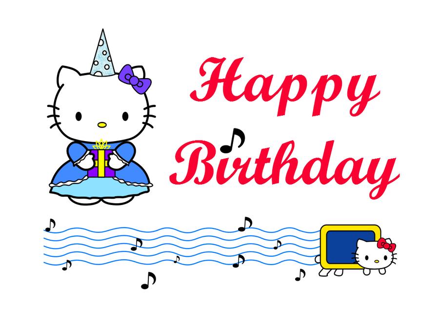 Hello Kitty Birthday Card WIP by LuvAllPokemon on DeviantArt – Hello Kitty Birthday Cards