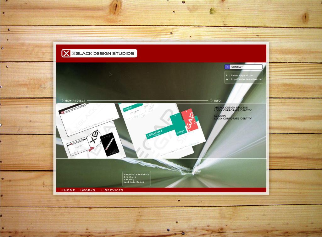 XBlack Web Design v2.0 by reddes