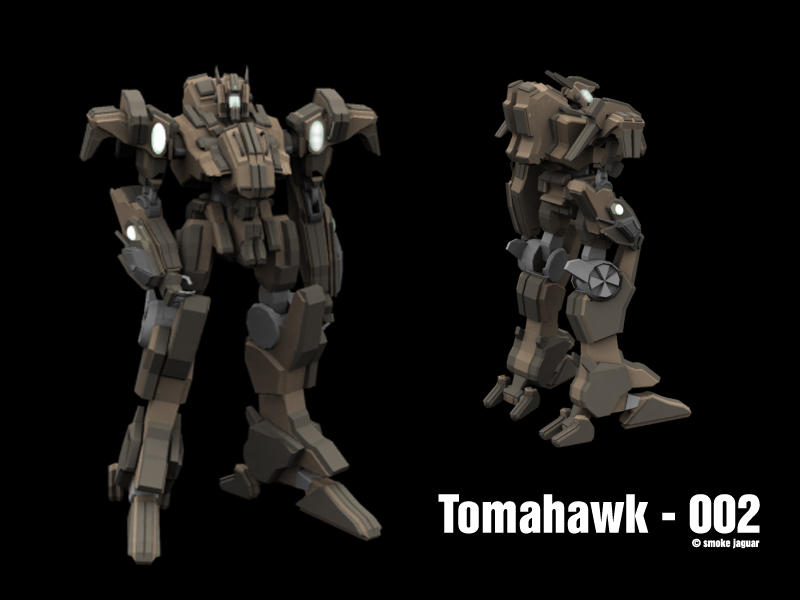 Tomahawk - 002 by smokejaguar