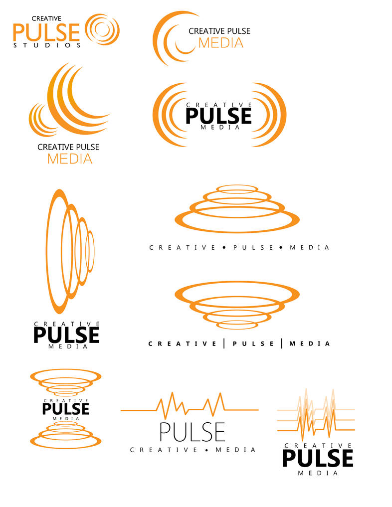 Logo Design - Creative Pulse Study Sheet by smokejaguar