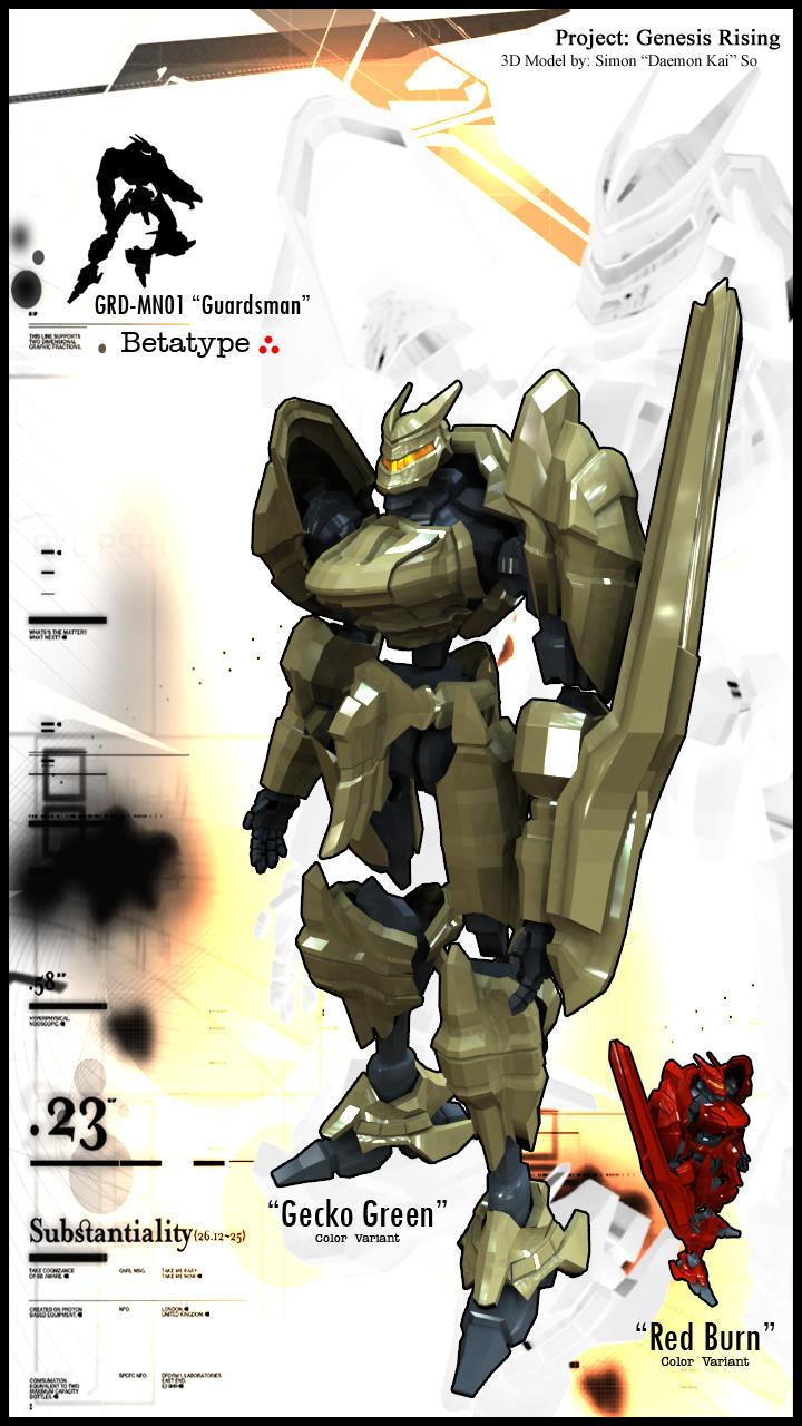 GRD-MN01 'Guardsman' by smokejaguar