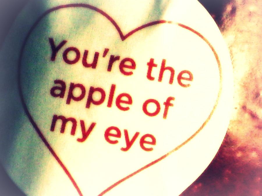 The Apple of my Eye by ADarkenedLandscape on DeviantArt