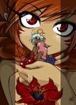 -M- Rhaia and Morgan by Petite-Emi