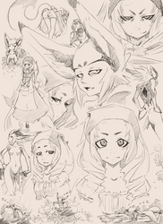 Rivet Sketches by Petite-Emi