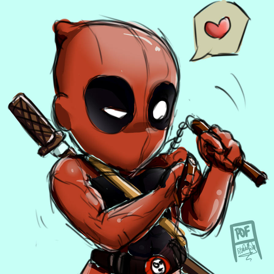 Deadpool by FitoOwlFish