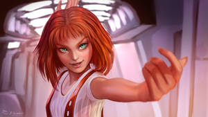 Leeloo from The Fifth Element (Fanart)