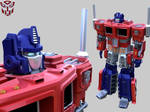 Optimus Prime by FromGoldMidas