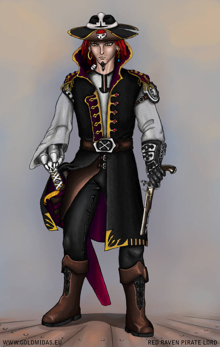 Red Raven Pirate Lord