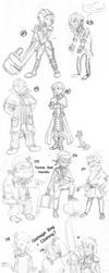 Character Dump - January 2011 by Meaninglessmage