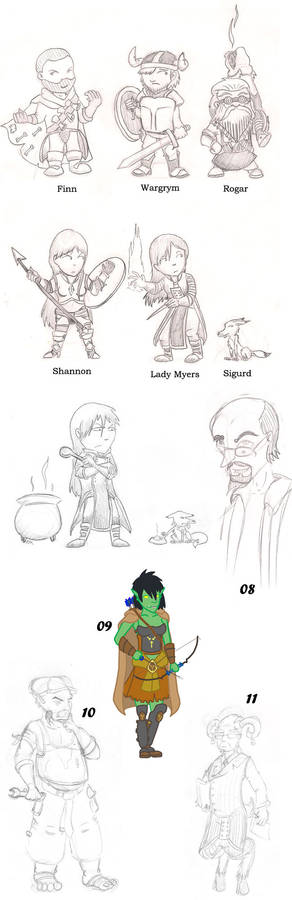 Character Dump - June 2011