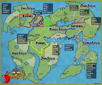 World Map of Byte