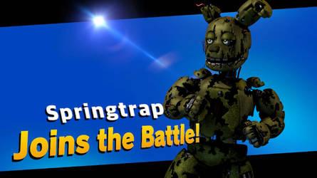 Springtrap joins the Battle