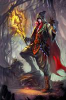 wizard by Zudartslee