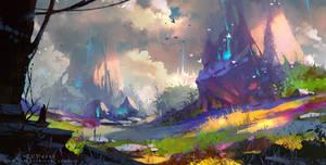unknown world by Zudartslee