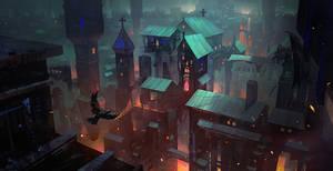 Town of Death by Zudartslee