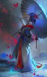 Geisha by Zudartslee