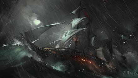 The Whale by Zudartslee