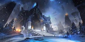 Snow Temple by Zudartslee