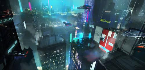 Cyberpunk Study 3hrs