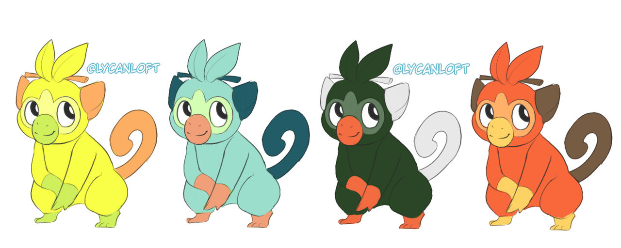 Shiny Grookey By Wolfintheattic On Deviantart Read on for information on its evolutions, abilities, type advantages, and more. shiny grookey by wolfintheattic on
