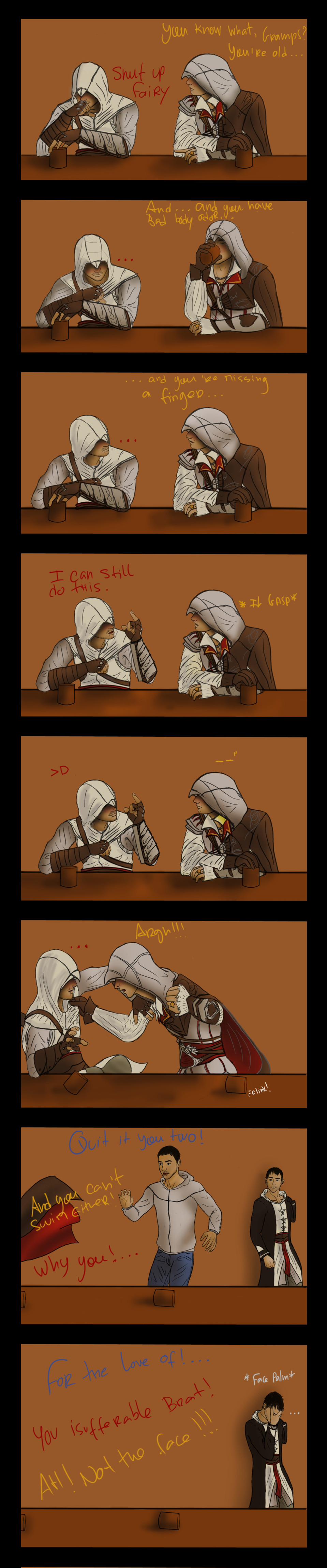 Drunk Time Paradox FTW by NevanAnxa