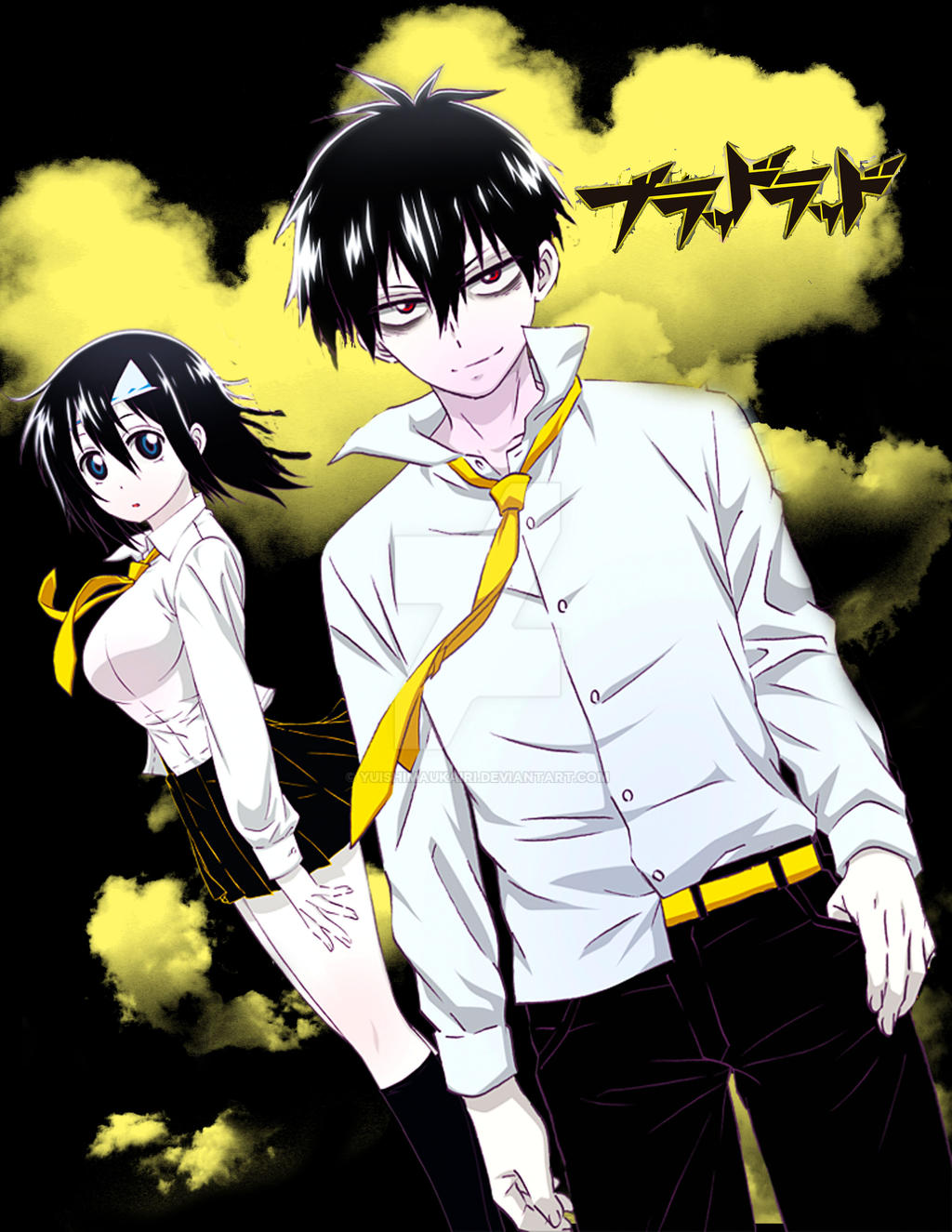 blood lad staz and fuyumi relationship trust