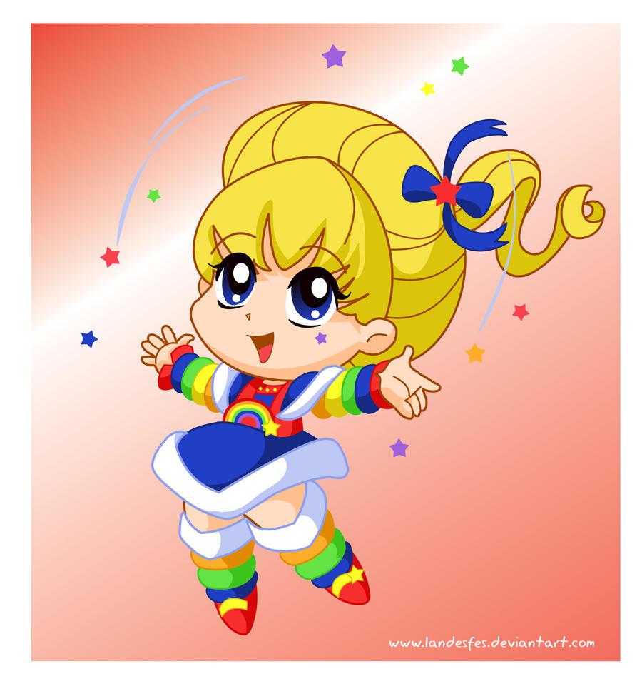 Chibi Rainbow Brite by landesfes