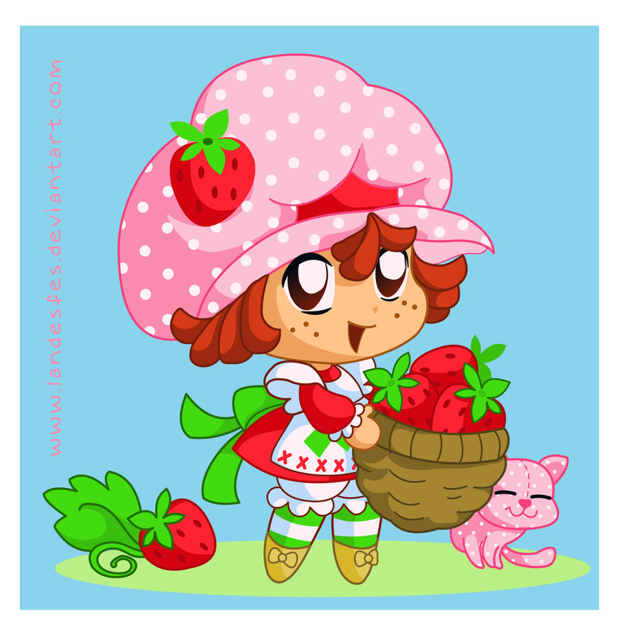 strawberry shortcake wallpaper strawberry shortcake wallpaper