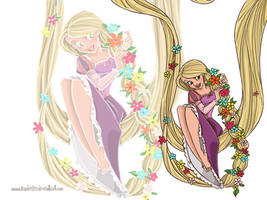 Tangled wallpaper by landesfes