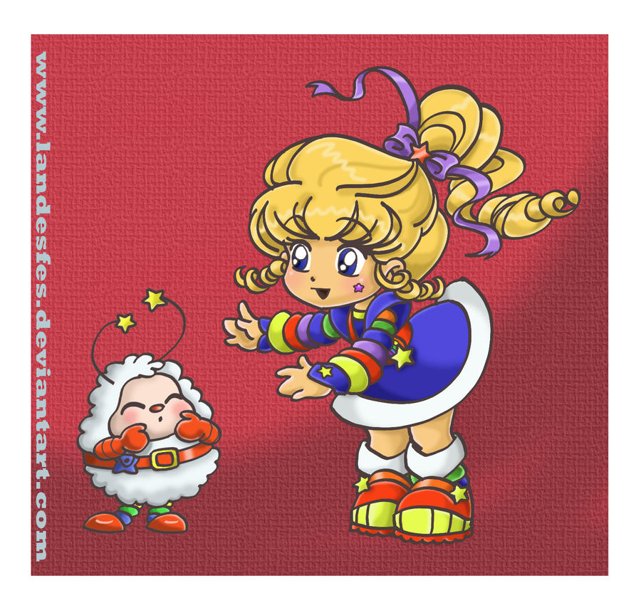 Rainbow Brite and Twink by landesfes