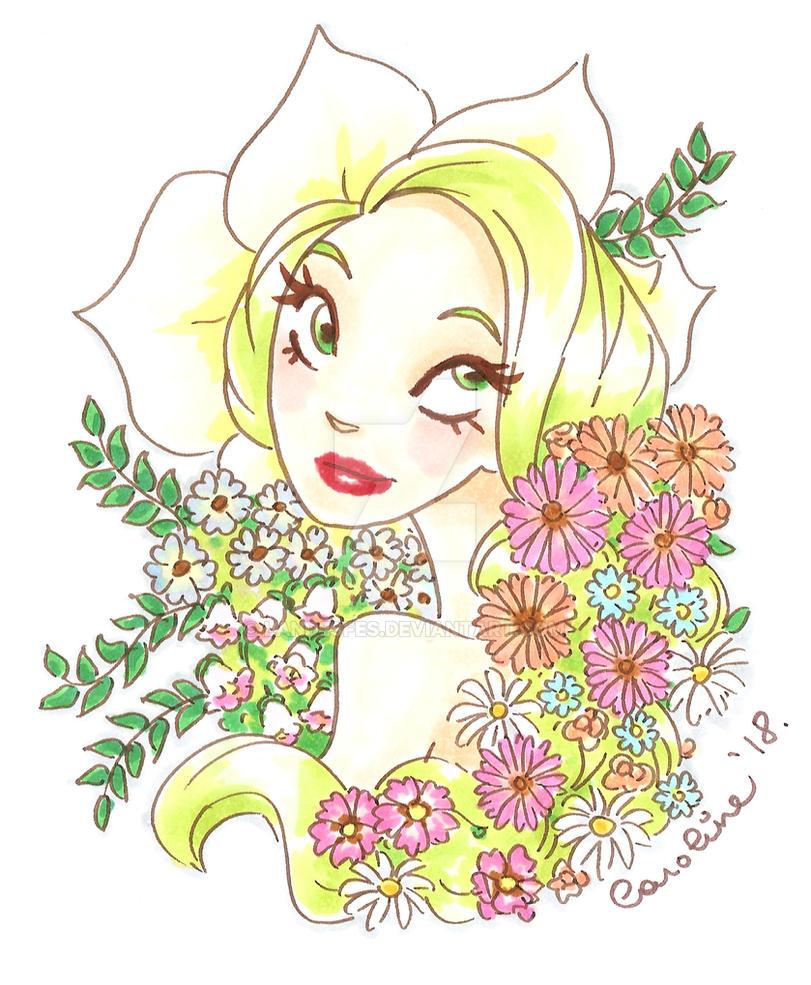 Flower Girl by landesfes