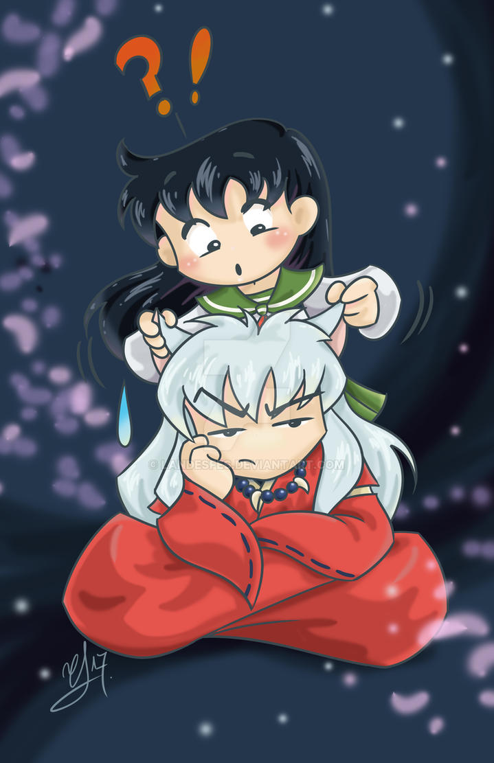 Inuyasha and Kagome by landesfes