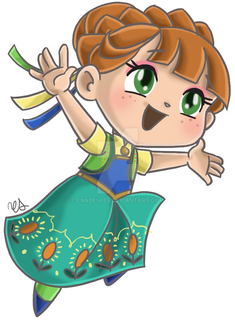 Chibi Princess Anna by landesfes