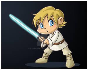 Chibi Luke Skywalker