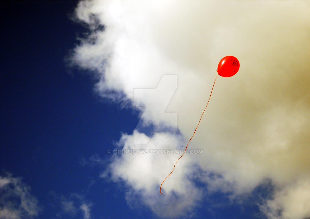 Free as a Red Ballon by Ginkoftw