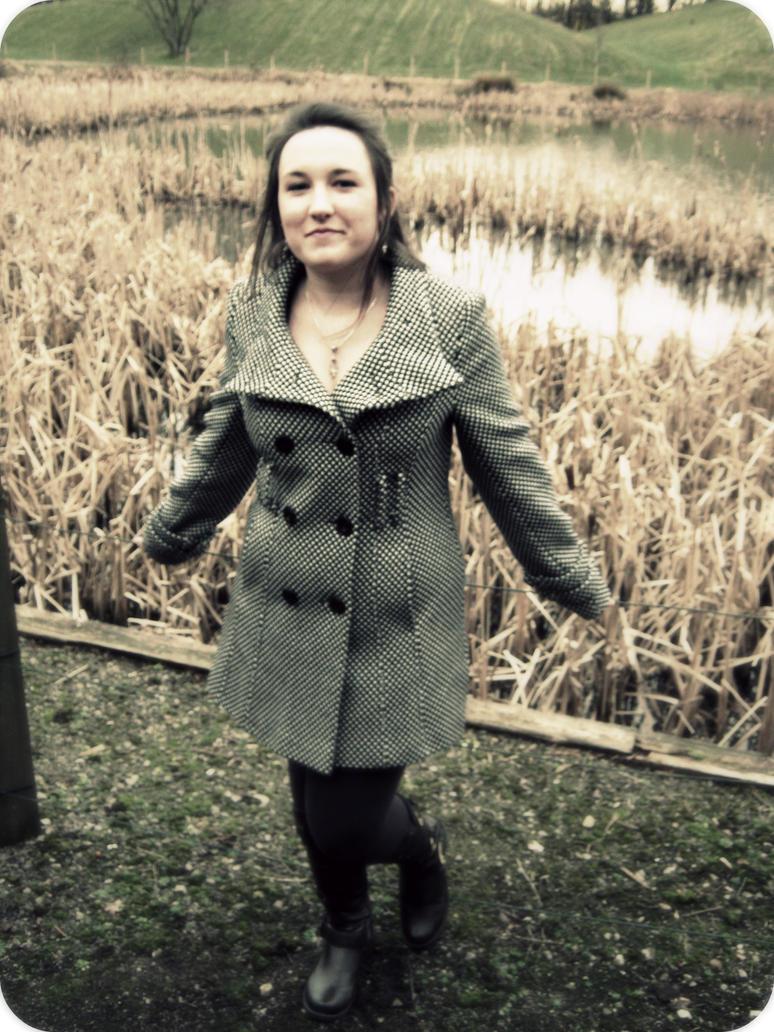 Winter lake by Ginkoftw