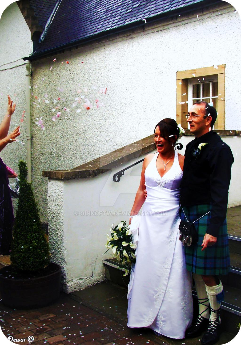 Wedding joy by Ginkoftw