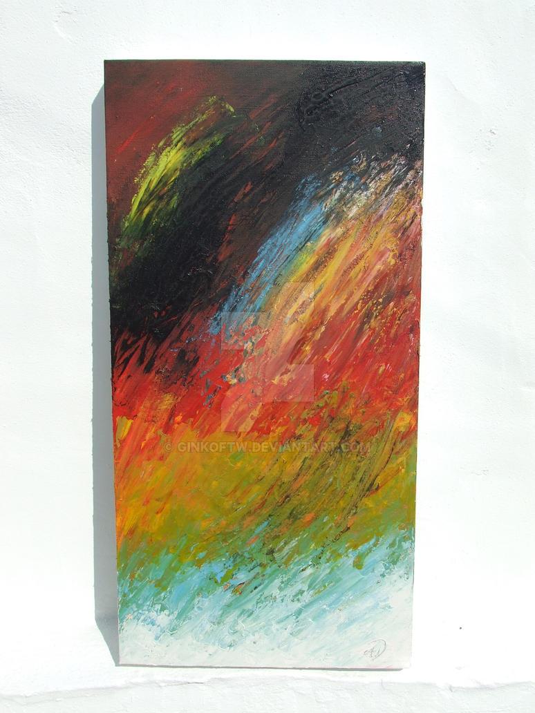 Blaze on the water by Ginkoftw