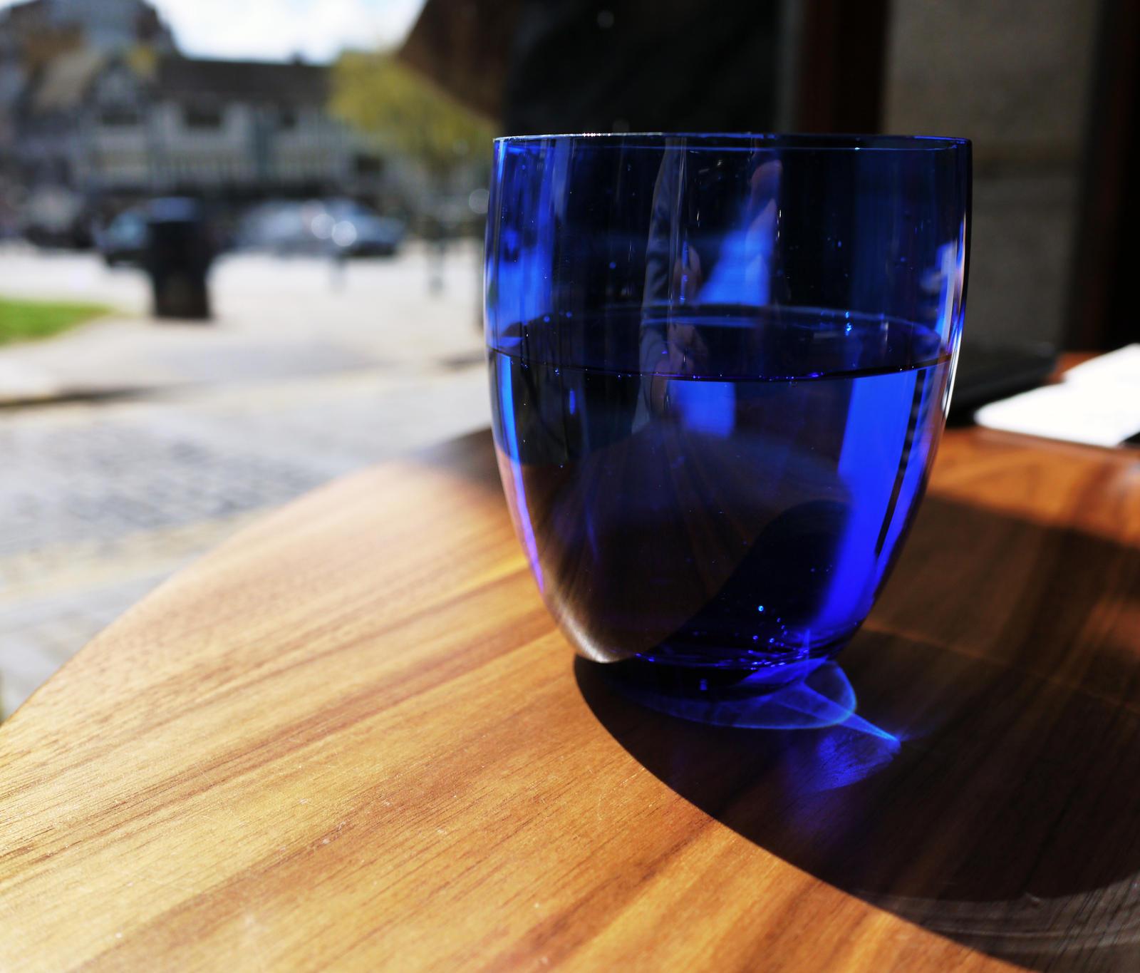 Blue glass by Ginkoftw