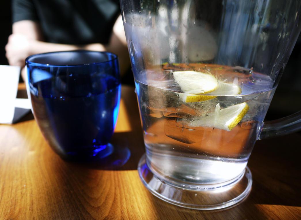 Lemon water by Ginkoftw