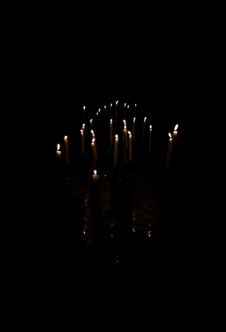 Fallen lanterns by Ginkoftw