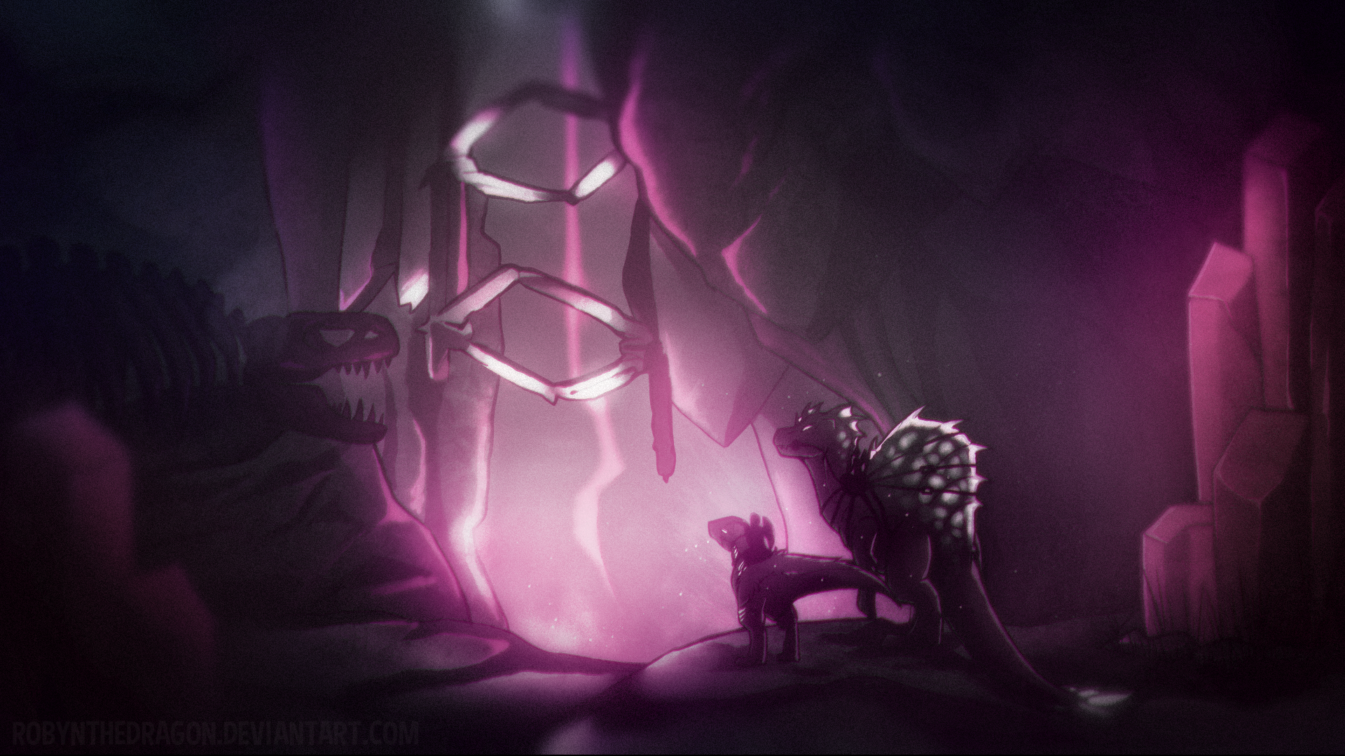 Ark Aberration The Spine By Robynthedragon On Deviantart