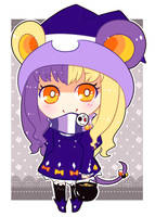 [OTA] Halloween Kemonomimi Witch Mouse [CLOSED!] by Operation-NovaCross