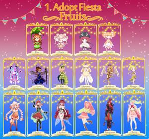 Adopt Fiesta- Fruits [OPEN]